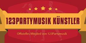 Deja vu´s Präsentationsseite auf  123partymusik.de:  Die richtige Musik für Eure Party !!!