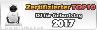 DJs für Geburtstag