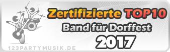 Bands für Dorffest